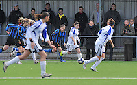 Club Brugge Dames - Rassing Harelbeke : Astrid Braeckevelt.foto DAVID CATRY / Vrouwenteam.Be