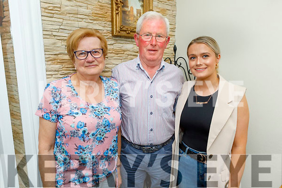 Mary, Johnny and Marguerite Maunsell from Tralee enjoying the evening in Bella Bia on Saturday.