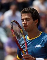 France, Paris, 31.05.2014. Tennis, French Open, Roland Garros, Jean-Julien Rojer (NED)<br /> Photo:Tennisimages/Henk Koster