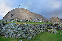 SC - Outer Hebrides - Isle of Lewis & South Harris<br /> Black House Museum in the  Crofter community Arnol<br /> <br /> Full size 69,2 MB
