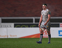 2nd January 2021; Kingsholm Stadium, Gloucester, Gloucestershire, England; English Premiership Rugby, Gloucester versus Sale Sharks; Jono Ross of Sale Sharks walks to the sin bin after receiving a yellow card