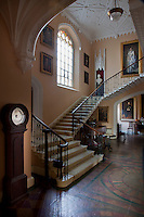 The cantilevered staircase was originally part of Stowe house, but when it was demolished in the 1720s Edmund Prideaux (1693-1745) purchased it and installed it at Prideaux Place