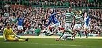 31.03.2019 Celtic v Rangers: Ryan Kent scores for Rangers