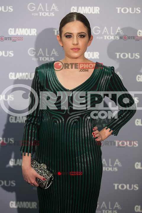 Marina Salas poses for the photographers during TOUS presentation in Madrid, Spain. January 21, 2015. (ALTERPHOTOS/Victor Blanco) /NortePhoto<br /> NortePhoto.com