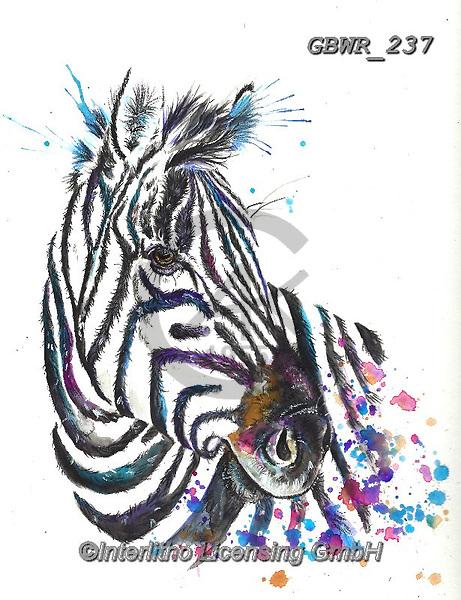 Simon, REALISTIC ANIMALS, REALISTISCHE TIERE, ANIMALES REALISTICOS, innovative, paintings+++++A_KatherineW_SplatterZebra,GBWR237,#a#, EVERYDAY