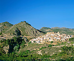Spain, Costa Blanca, Planes: village upcountry in Gallinera Valley | Spanien, Costa Blanca, Planes: Ort im Landesinneren im Val de Gallinera