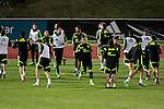 20141112 Spanish Soccer Team Training Sesion