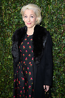 Gillian Anderson<br /> arriving for the 2018 Charles Finch & CHANEL Pre-Bafta party, Mark's Club Mayfair, London<br /> <br /> <br /> ©Ash Knotek  D3380  17/02/2018