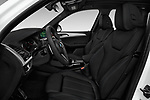 Front seat view of 2018 BMW X3 M-Sport 5 Door SUV Front Seat  car photos