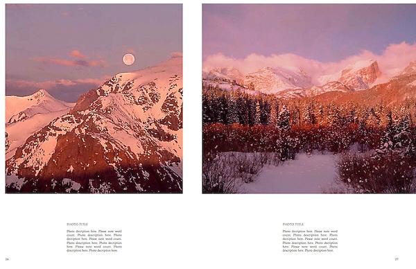 """Private guided tours of Rocky Mountain National Park.<br /> From John's 4th book: """"Boulder, Colorado: A Photographic Portrait."""""""