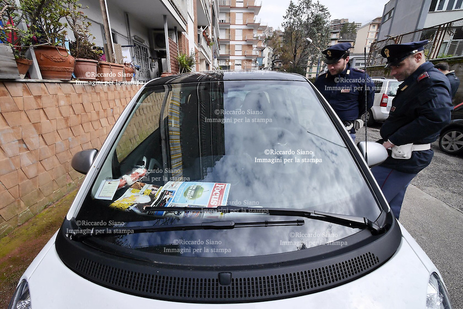 - NAPOLI 03 FEB - ritrovata l'auto rubata a Behrami.