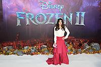 "Idina Menzel<br /> arriving for the ""Frozen 2"" premiere at the BFI South Bank, London.<br /> <br /> ©Ash Knotek  D3537 17/11/2019"