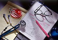 Medical studies illustration.