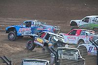 Dec. 11, 2011; Chandler, AZ, USA;  LOORRS pro 2 driver Robby Woods during the Lucas Oil Challenge Cup at Firebird International Raceway. Mandatory Credit: Mark J. Rebilas-