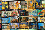 Van Gogh postcards of his paintings Arles France  2016 2000s