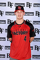 Dakotah Danner (4) of Montgomery Central High School in Cunningham, Tennessee during the Baseball Factory All-America Pre-Season Tournament, powered by Under Armour, on January 12, 2018 at Sloan Park Complex in Mesa, Arizona.  (Mike Janes/Four Seam Images)