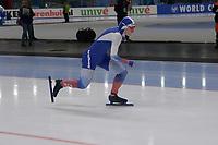 SPEEDSKATING: 23-11-2019 Tomaszów Mazowiecki (POL), ISU World Cup Arena Lodowa, 500m Ladies Division A, Angelina Golikova (RUS), ©photo Martin de Jong
