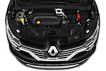 Car Stock 2020 Renault Espace Initiale-Paris 5 Door Mini MPV Engine  high angle detail view