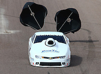 Feb 22, 2015; Chandler, AZ, USA; NHRA pro stock driver Rodger Brogdon during the Carquest Nationals at Wild Horse Pass Motorsports Park. Mandatory Credit: Mark J. Rebilas-