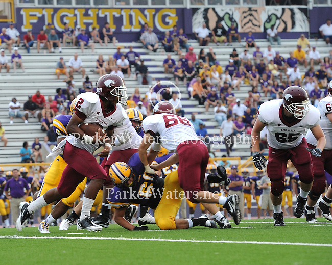 Selected images from the River Parishes Jamboree played in Hahnville, LA.  The first game matched Destrehan vs. Lutcher, followed by Hahnville vs. St. James.