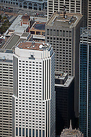 aerial photograph 50 Fremont Center office tower San Francisco