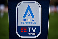 The women serie A logo is seen prior to the Women Serie A football match between AS Roma and FC Internazionale at stadio Agostino Di Bartolomei, Roma, March 20th, 2021. AS Roma won 4-3 over FC Internazionale. Photo Andrea Staccioli / Insidefoto