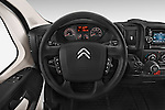 Car pictures of steering wheel view of a 2015 Citroen JUMPER L2H2 5 Door Cargo Van Steering Wheel