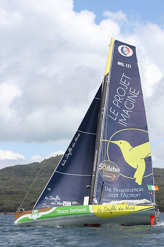 The Kiwi Transformation…..in the 2016-2017 Vendee Globe, Thomas Ruyant's Souffle du Nord arrived in a damaged state in New Zealand