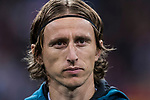 Luka Modric of Real Madrid prior to the UEFA Champions League 2017-18 match between Real Madrid and Tottenham Hotspur FC at Estadio Santiago Bernabeu on 17 October 2017 in Madrid, Spain. Photo by Diego Gonzalez / Power Sport Images