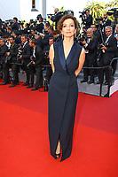 Audrey Azoulay sur le tapis rouge pour la soirée dans le cadre de la journée anniversaire de la 70e édition du Festival du Film à Cannes, Palais des Festivals et des Congres, Cannes, Sud de la France, mardi 23 mai 2017.