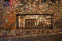 The Gum Wall at Post Alley, Pike Place Market, Seattle, Washington.