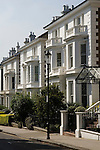 Phillimore Gardens. The Royal Borough of Kensington and Chelsea, London W8. England. 2006
