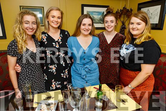 Siobhan O'Connor, Aoife O'Donovan, Aine Lee, Martina Carey and Linda Brown enjoying the evening in the Brogue Inn on Thursday