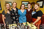 Siobhan O'Connor, Aoife O'Donovan, Aine Lee, Martina Carey and Linda Brown enjoying the evening in the Brogue Inn on Thursday