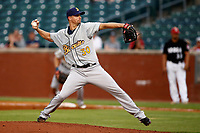 Montgomery Biscuits pitcher J.D. Martin (30) delivers a pitch to the plate in the game versus the Chattanooga Lookouts on May 23, 2018 at AT&T Field in Chattanooga, Tennessee. (Andy Mitchell/Four Seam Images)