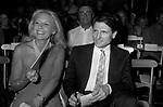 FRANCINE CRESCENT E PATRICK HOURCADE<br /> SFILATA LANCETTI ROMA 1982