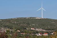 CROATIA, dalmatia, wind farm / KROATIEN, Dalmatien, Windpark
