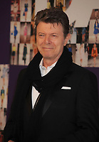 NEW YORK - JUNE 07: David Bowie attends the 2010 CFDA Fashion Awards at Alice Tully Hall at Lincoln Center on June 7, 2010 in New York City <br /> <br /> <br /> People:  David Bowie