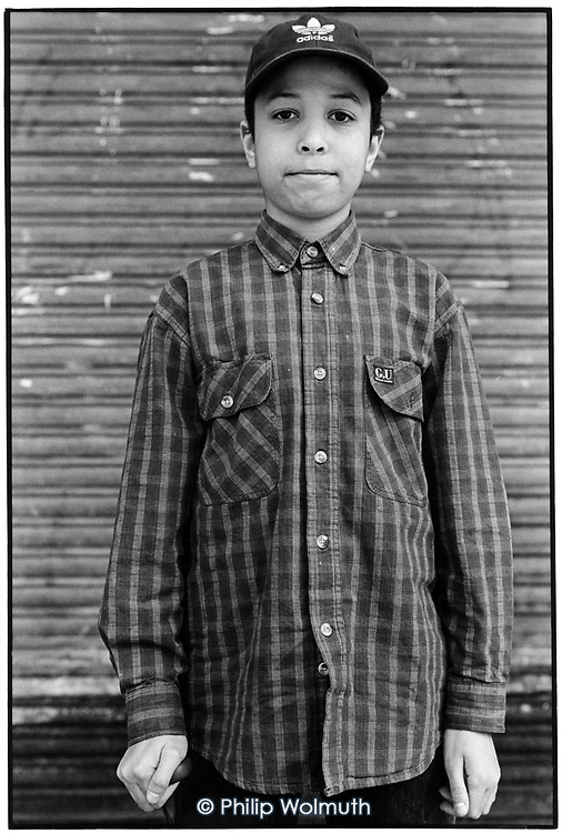 1997: Assisted self-portraiture: Photoworks Westminster project with the Fourth Feathers Youth Club,  Lisson Green Estate.