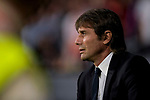Coach Antonio Conte of Chelsea FC prior to the UEFA Champions League 2017-18 match between Atletico de Madrid and Chelsea FC at the Wanda Metropolitano on 27 September 2017, in Madrid, Spain. Photo by Diego Gonzalez / Power Sport Images