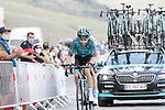 Quentin Pacher (FRA) B&B Hotels-Vital Concept from the breakaway summits the Col de Peyresourde during Stage 8 of Tour de France 2020, running 141km from Cazeres-sur-Garonne to Loudenvielle, France. 5th September 2020. <br /> Picture: Colin Flockton | Cyclefile<br /> All photos usage must carry mandatory copyright credit (© Cyclefile | Colin Flockton)