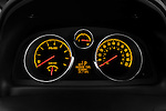 Instrument panel close up detail view of a 2008 Saturn Vue Greenline