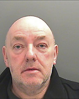 Pictured: Keith Morgan, South Wales Police custody picture. <br /> Re: Conman Keith Morgan has been jailed for 8 and a half years at Cardiff Crown Court. He had claimed that he was one of the world's wealthiest men but instead he was living on benefits in rented accommodation in Pontypridd.