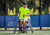 Amstelveen, Netherlands, 19 Augustus, 2020, National Tennis Center, NTC, NKR, National Junior Wheelchair Tennis Championships, Ivar van Rijt (NED)<br /> Photo: Henk Koster/tennisimages.com