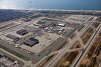 aerial photograph Los Angeles International airport LAX