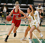 January 16, 2021— Western Colorado at Black Hills State women's college basketball at the Donald E Young Center Spearfish, SD. (Photo by Richard Carlson/inertia)