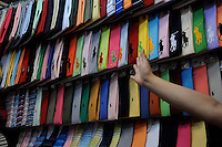 """The """"Silk Market"""" in Central Beijing is proving a major tourist attraction to purchase fake designer goods ranging from clothing to watches.  <br /> <br /> Photo by Richard Jones / sinopix"""