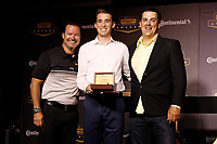 2018 Continental Tire SportsCar Challenge Awards, <br /> Travis Roffler, Devin Jones, Nick Galante