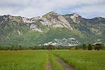 Ruggell, Rheintal, Rhine-valley, Liechtenstein.
