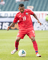 PHILADELPHIA, PA - JUNE 30: Alberto Quintero #19 during a game between Panama and Jamaica at Lincoln Financial Field on June 30, 2019 in Philadelphia, Pennsylvania.